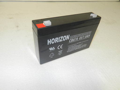 6v 7.0ah battery from Batteryworld.ie