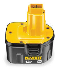 dewalt 12v 3 amp battery rebuild service from Batteryworld.ie