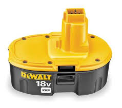dewalt 18volt nimh battery rebuild 3amp from Batteryworld.ie