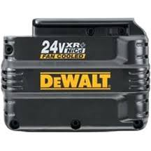 dewalt 24 volt 3 amp nimh battery rebuild service from Batteryworld.ie