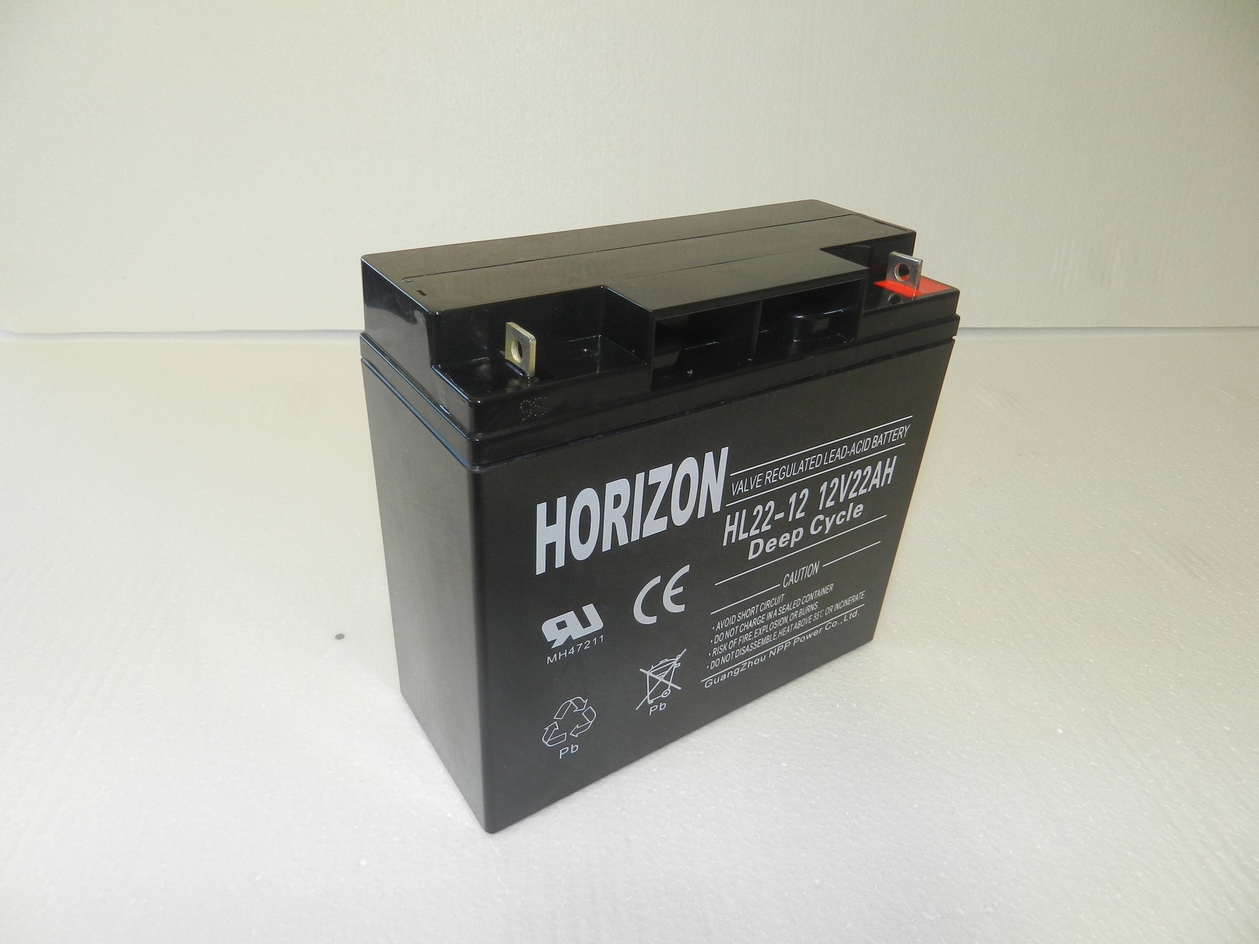 12v 22ah sla battery from Batteryworld.ie