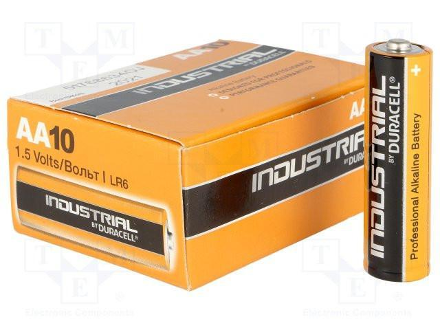 lr6 aa duracell industrial from Batteryworld.ie