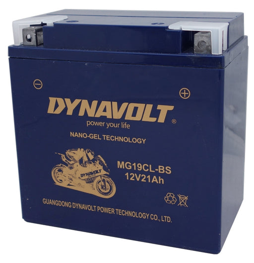 MG19CL-BS battery from Batteryworld.ie
