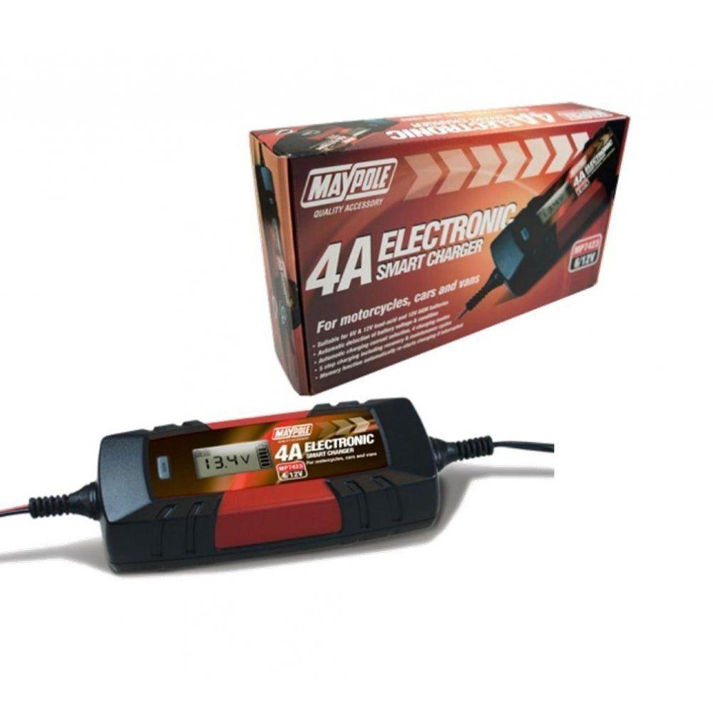 12 volt 4 amp battery charger from Batteryworld.ie