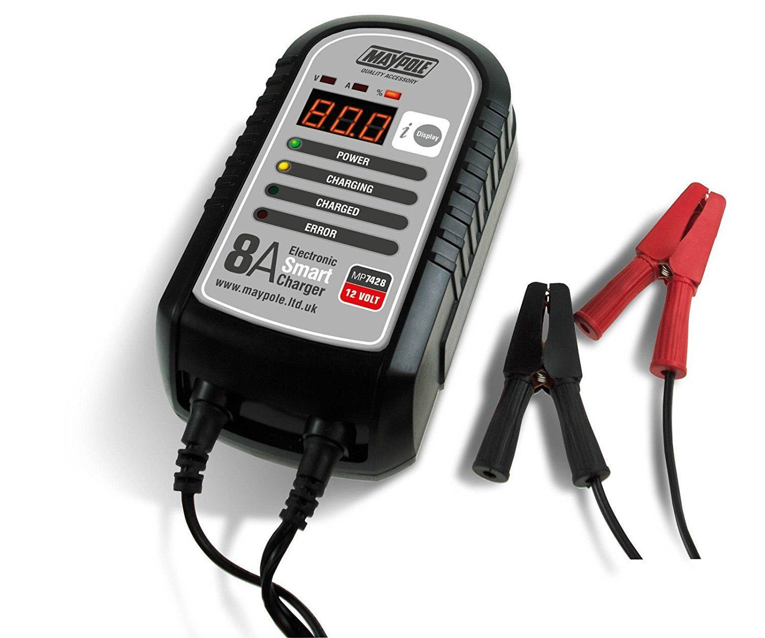 12v 8amp battery charger from Batteryworld.ie