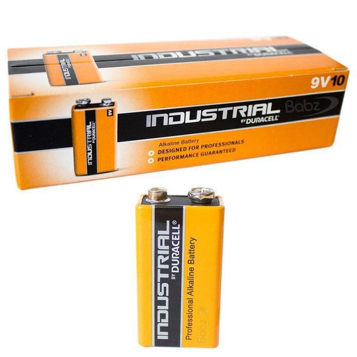 pp3 9v duracell industrial from Batteryworld.ie