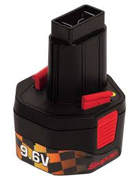 snap-on 9.6volt battery rebuild service from Batteryworld.ie