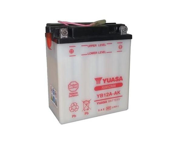 YB12A-AK battery from Batteryworld.ie