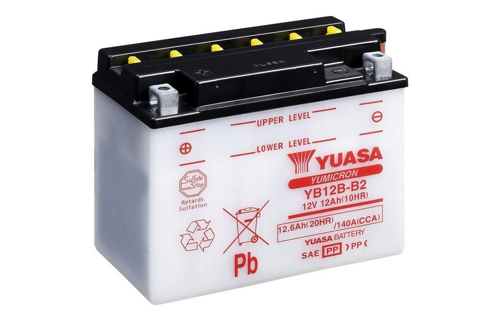 YB12B-B2 battery from Batteryworld.ie