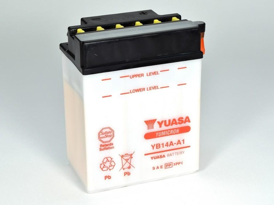 YB14A-A1 battery from Batteryworld.ie