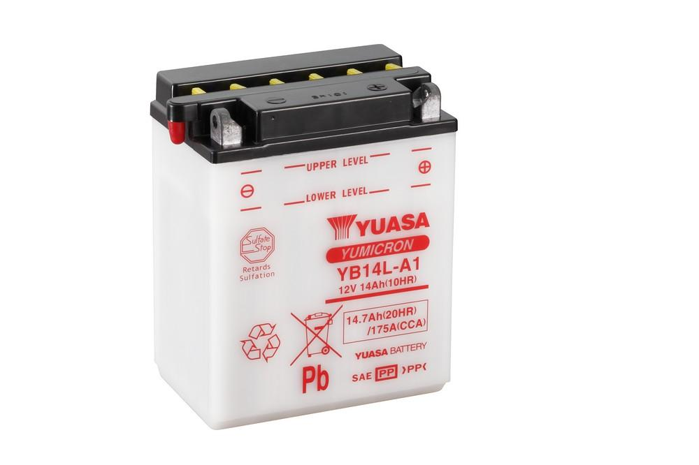 YB14L-A1 battery from Batteryworld.ie
