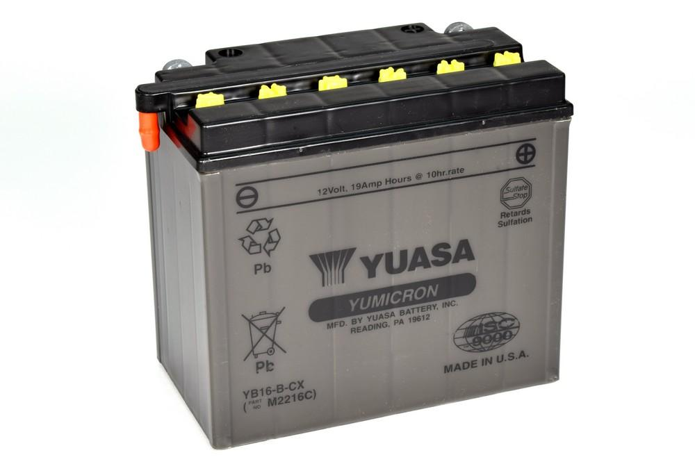 YB16-B-CX battery from Batteryworld.ie