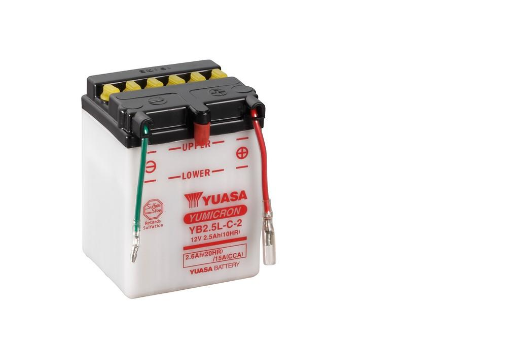 YB2.5L-C-2 battery from Batteryworld.ie