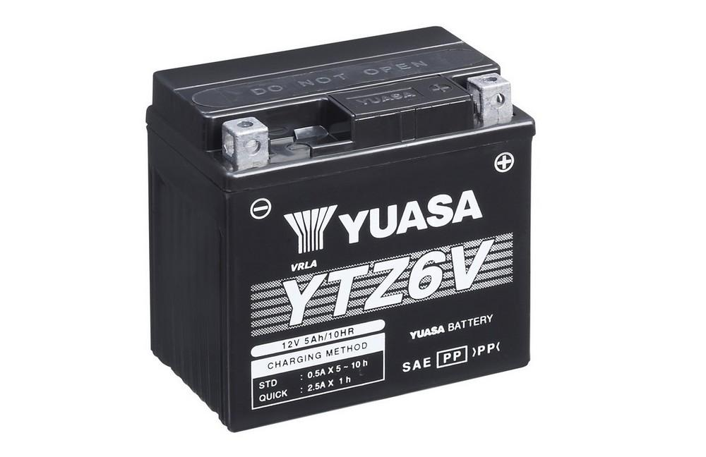 YTZ6V battery from Batteryworld.ie