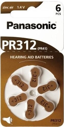 za312 hearing aid batteries zinc air from Batteryworld.ie