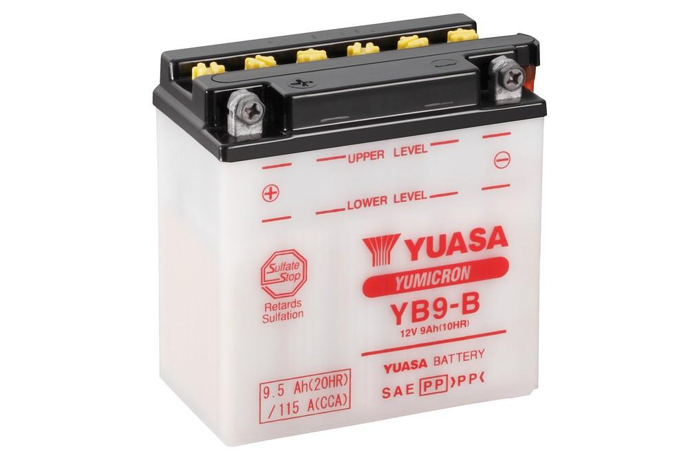 YB9-B battery from Batteryworld.ie
