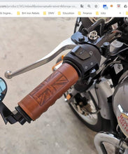 Load image into Gallery viewer, KB-GRIUJ - Leather Grip Covers w/ Union Jack