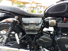 Load image into Gallery viewer, KB-TSUJB - Triumph Bonneville Side Bag w/ Union Jack Pin
