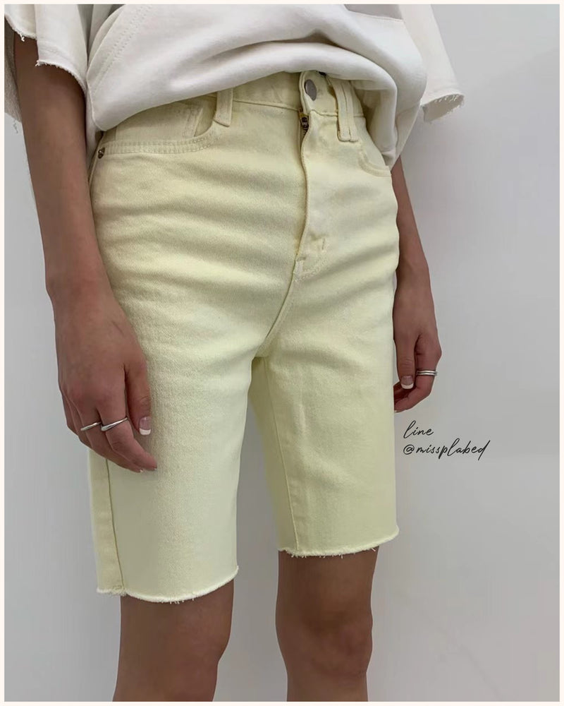bani denim shorts