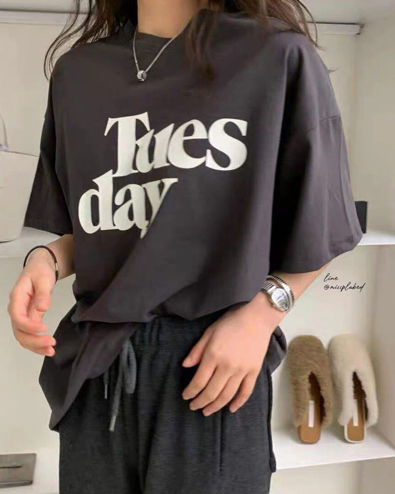 Tuesday soft tee