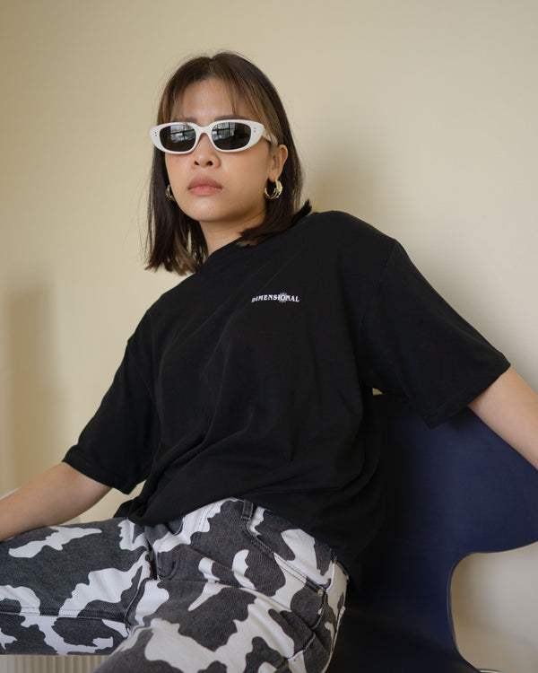 dimensional oversize soft tee
