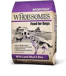 Sportmix® Wholesomes™ with Lamb Meal & Rice Formula 40 Lbs - Cozzzy Goods