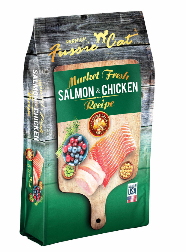 Fussie Cat® Market Fresh Salmon & Chicken Recipe Premium Cat Food 10 Lbs - Cozzzy Goods