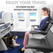 TopiTop Cozzzy Airline Approved Pet Carrier with Wheels, Soft Sided for Small Dogs, Medium Cats Other Small Pets,  19.6 in 11.8 in 11.8 in - Cozzzy Goods
