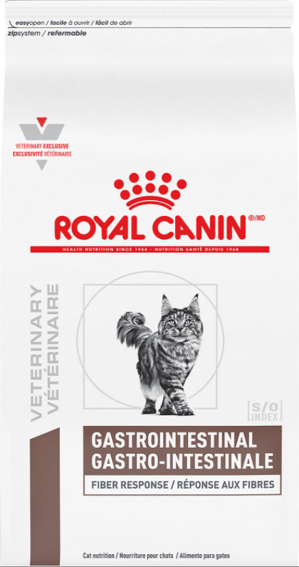 Royal Canin Veterinary Diet Gastrointestinal Fiber Response Dry Cat Food 8.8 lb - Cozzzy Goods