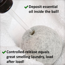 Load image into Gallery viewer, Essential Oil Dryer Ball Set