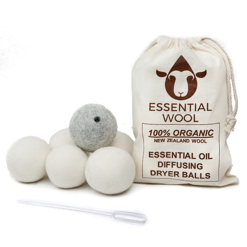 Essential Oil Dryer Ball Set