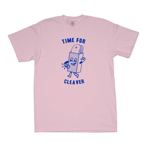 """TIME FOR"" TEE PINK"
