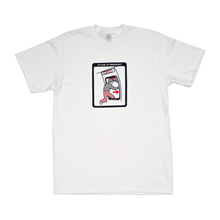 "Load image into Gallery viewer, ""EMERGENCY"" TEE WHITE"