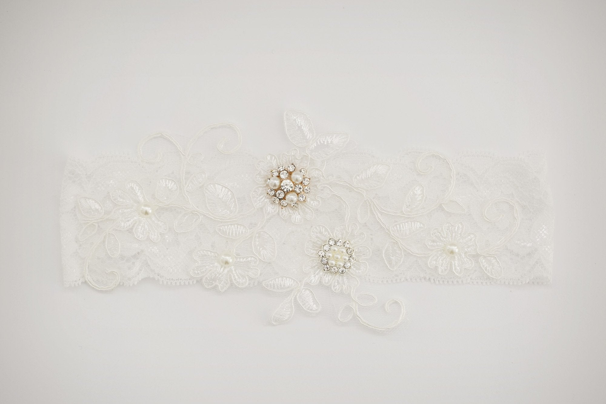 Adele Bridal Garter - Violet and Eve