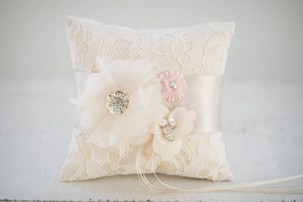 Amy Flower Girl Pillow - Violet and Eve