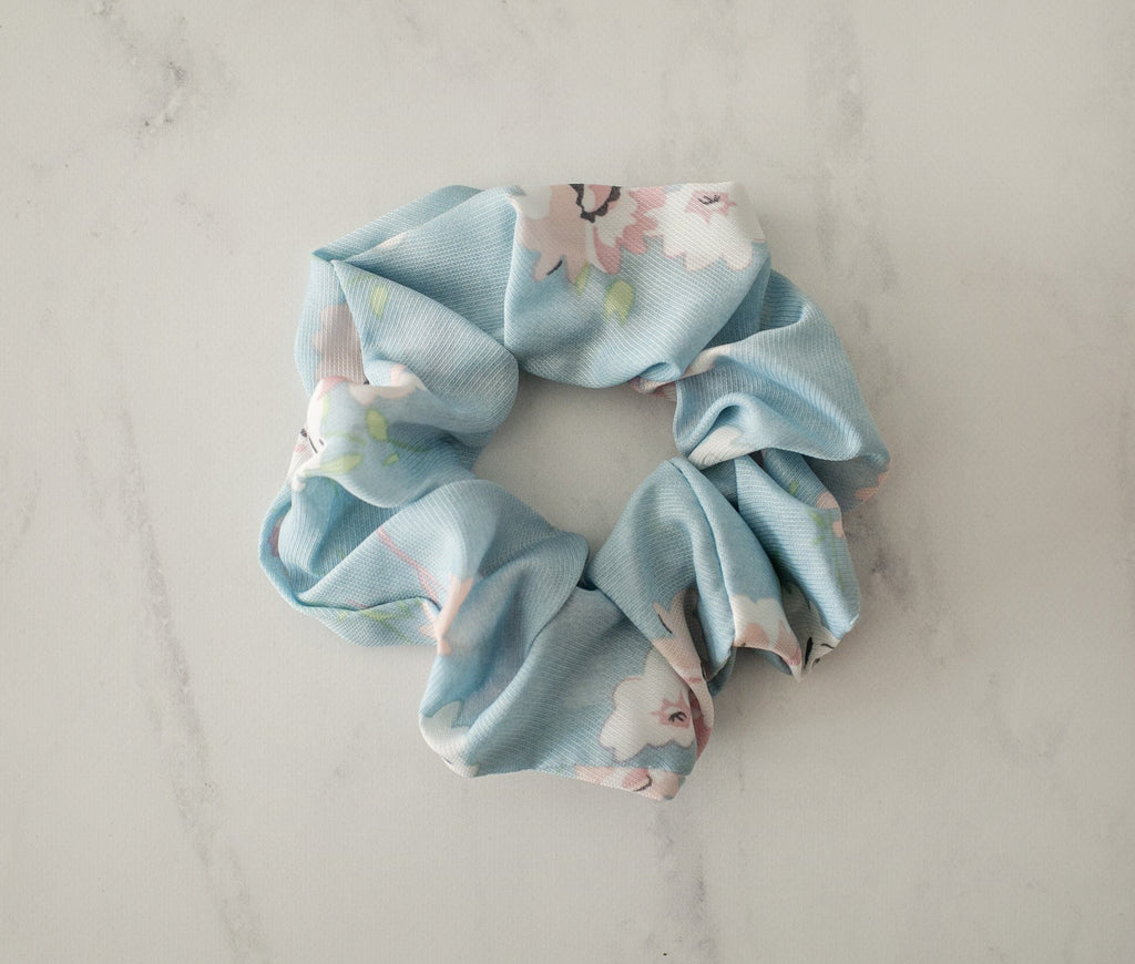 Charlie Scrunchie - Blue - Violet and Eve