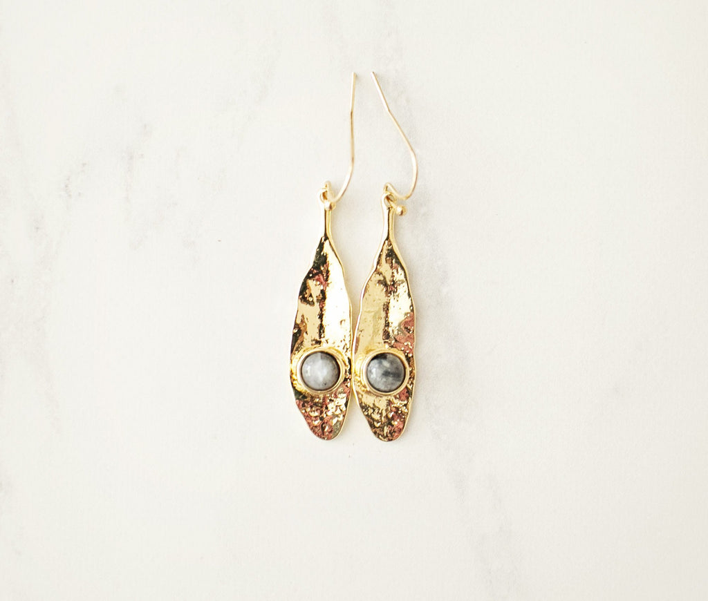 Cleo Drop Earrings - Violet and Eve