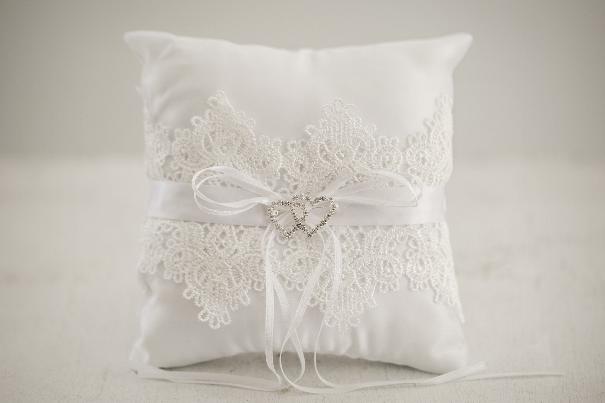 Elizabeth Flower Girl Pillow - Violet and Eve