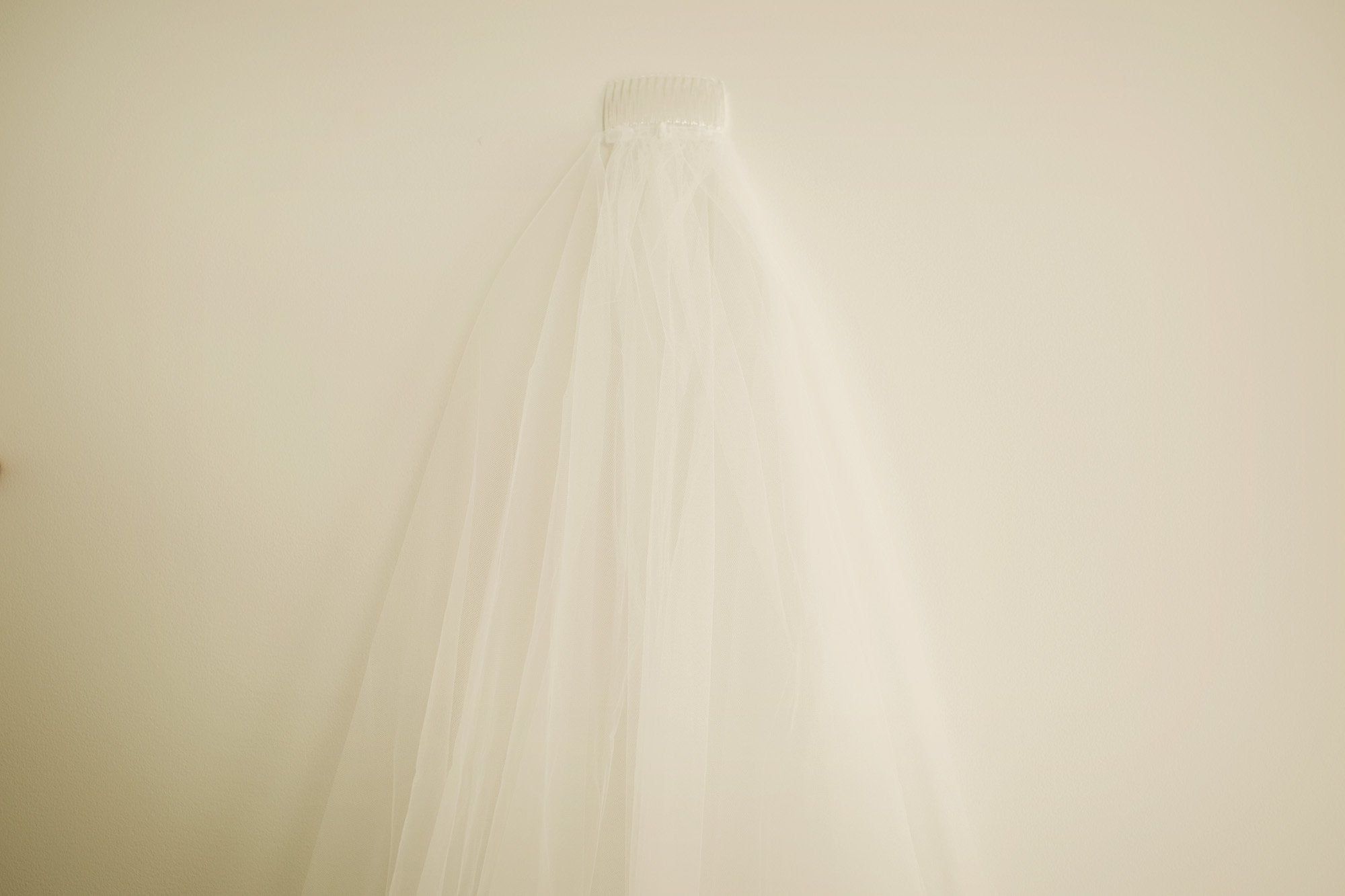 Long Bridal Veil - 2 Metres - Violet and Eve