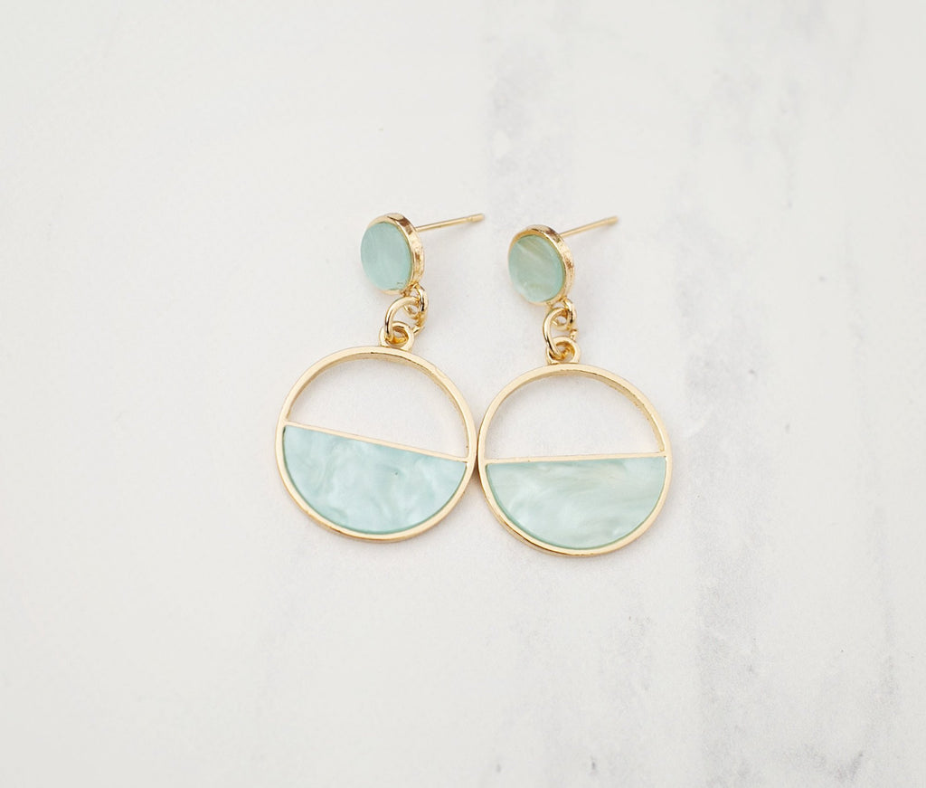 Moonchild Earrings - Turquoise - Violet and Eve