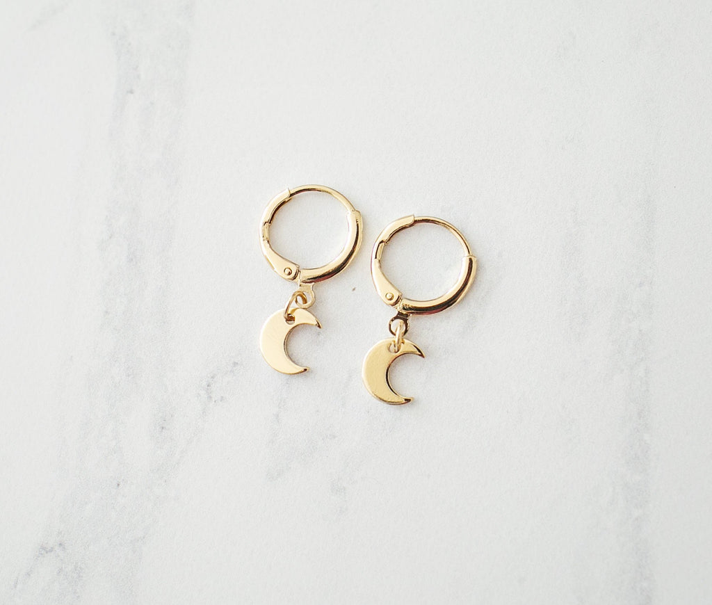 Moonshine Earrings - Gold - Violet and Eve