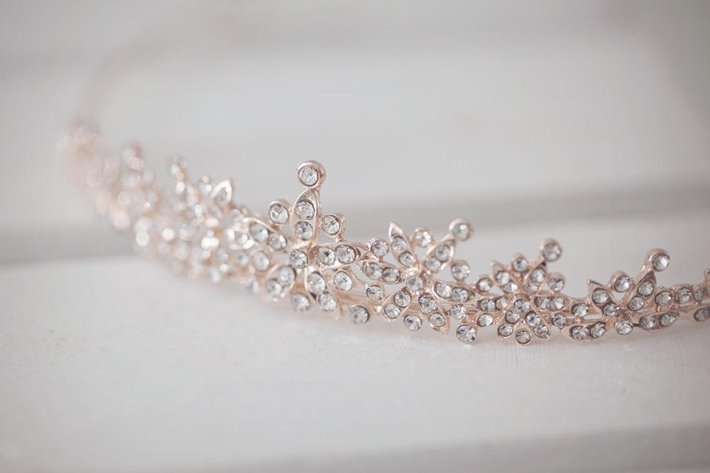 Rose Gold Tiara - Violet and Eve