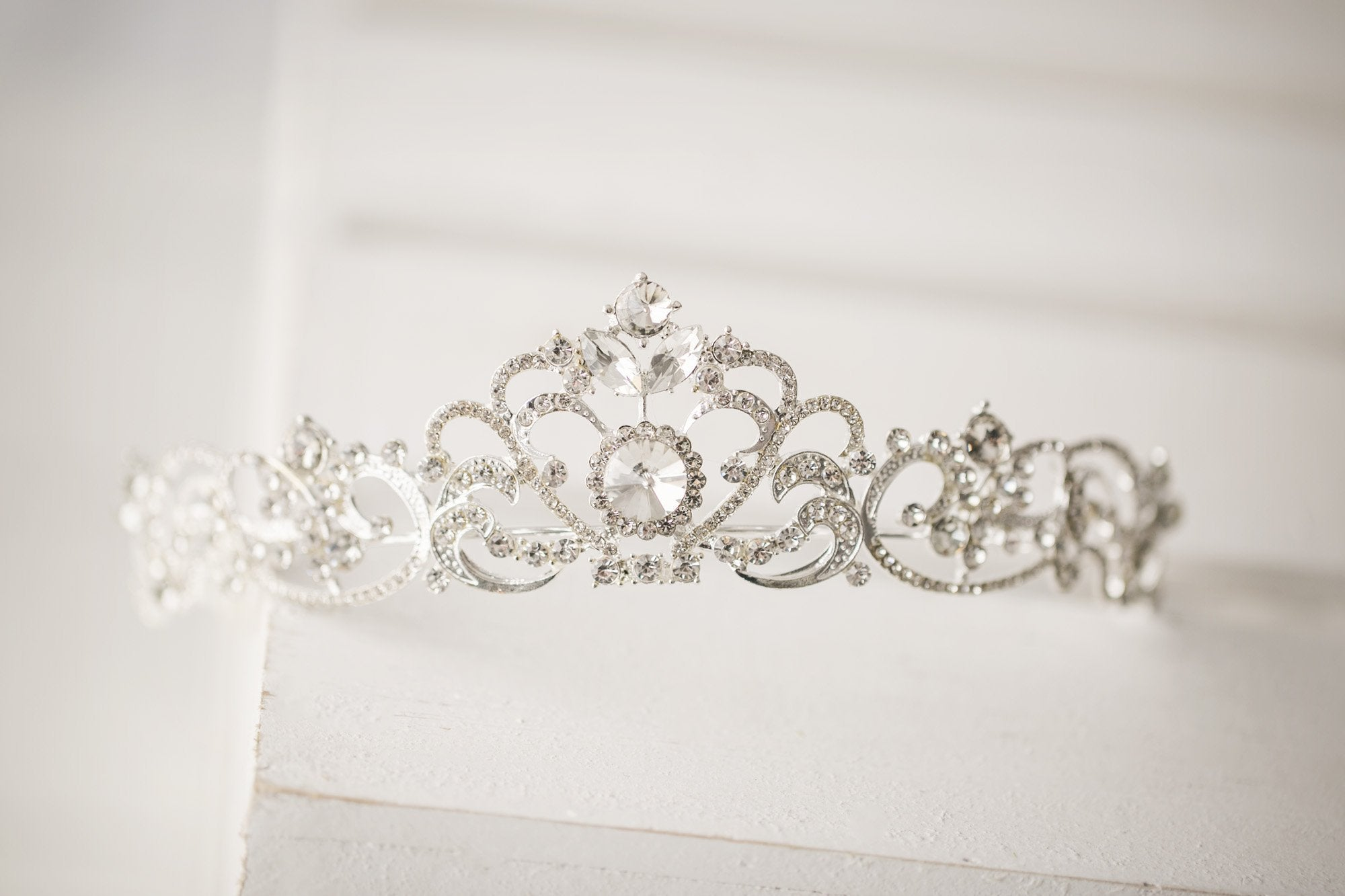 Royal Silver Tiara - Violet and Eve