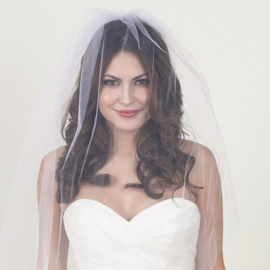 Short Length Bridal Veil - 0.75m - Violet and Eve