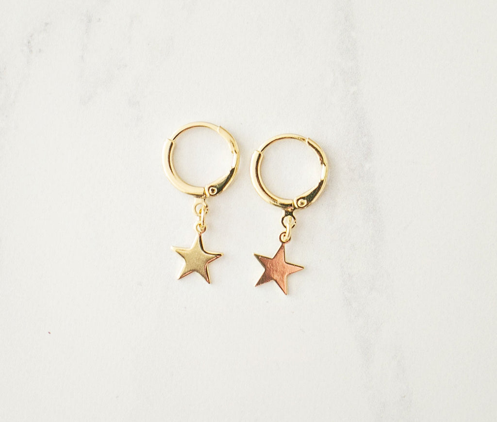 Stardust Earrings - Gold - Violet and Eve