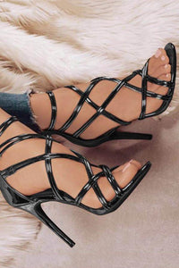 Fashion Hollow Out Thin Heels
