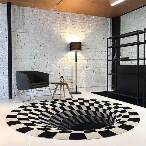 This realistic 3D Vortex Illusion Rug is handmade by our vetted and skillful artisans — the best the market has ever come across!