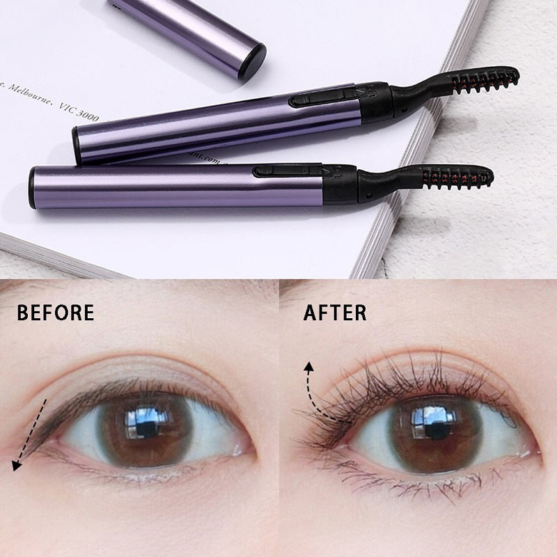 With LashUp™ Heated Eyelash Curler, now you'll have a curler on the go, you won't have to worry about dust looking eyelashes with the left-over mascara that you would've worn, and you'll look completely natural.