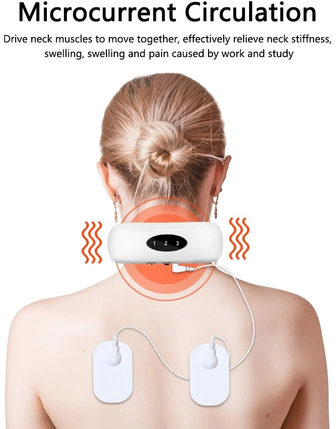Electric pulse neck and shoulder massager can effectively ease your muscles tensions and cervical fatigue, thus helping you to achieve a healthier and more relaxed life.