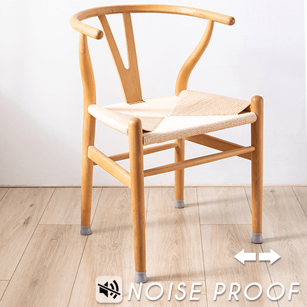 The furniture silicone protection covers are very convenient and easy to apply, protect your floor from any scratches, and reduces noises when moving the furniture around.